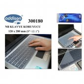 Addison 300180 9 12.1 Notebook Klavye Koruyucu