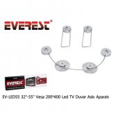 Everest Ev Led55 32 55 Vesa 200*400 Led Tv Duvar Askı Aparatı