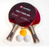 Lotto Racket Pingpong Set 6pcs Pindpong Set...