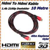 10 Metre Lcd Laptop Hdmı Bağlantı Kablosu