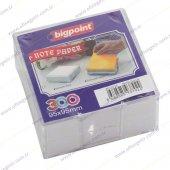 Bp129 50 Bigpoint Akrilik Küp Notluk Dolu 9.5x9.5cm Beyaz