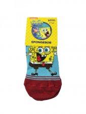 Spongebob Lisanslı Çoçuk Çorabı 6 7 Yaş Kırmızı