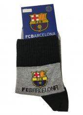 Fc Barcelona Lisanslı Çorap Siyah