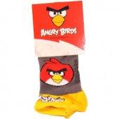 şirin Angry Birds Desenli Çocuk Çorap 2+3 Yaş Tekli Model 4