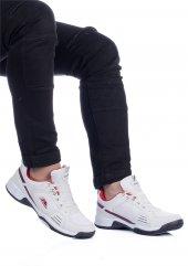 Jg Beyaz Kırmızı Renk Spor Ayakkabı