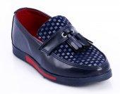Rugan Lacivert Kırmızı Çocuk Ayakkabı