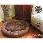 Wowpaw Donut New Kedi Köpek Yatağı 80x60x15 Kahve ...