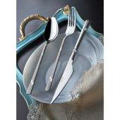 Yetkin Diva Sade 78 Parça Kutulu Çatal Kaşık Bıçak Yemek Takımı