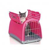 ımac Linus Cabrio Kedi Köpek Taşıma Çantası Pembe