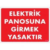 Pvc Levha Elektrik Panosuna Girmek Yasaktır