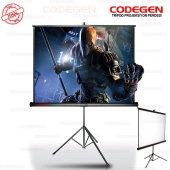 Codegen Tx24 240x200 Ayaklı Projeksiyon Perdesi