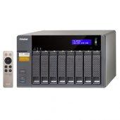 Qnap 8x Ts853a 4g Celeron Qc 1.6ghz 4gb 4x Glan Usb 3.0,hdmı Raid Nas Server (Disksiz) (64tb Kapasite)