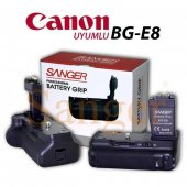 Canon Sanger Bg E8 Battery Grip