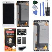 General Mobile Gm5 Plus Lcd Ekran Dokunmatik Panel (Beyaz)