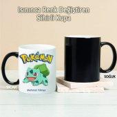 Pokemon Bulbasaur Kişiye Özel Sihirli Kupa Tk115