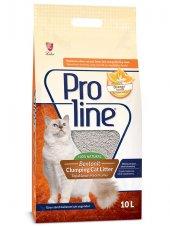 Proline Portakal Kokulu Topaklaşan Kedi Kumu 10 Lt
