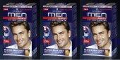 Schwarzkopf Men Perfect Erkek Saç Boyası 50 Açık Kahve 3 Adet