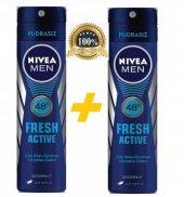 Nivea Deodorant Fresh Active 2li Ekonomik Paket