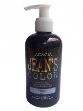 Jeans Color Su Bazlı Amonyaksız Saç Boyası Mor (Violet)250ml