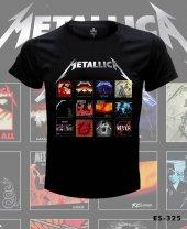 Büyük Beden Metallica Album Covers Tişört
