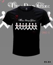 Büyük Beden Three Days Grace Tişört