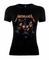 Metallica Bayan Tişört Sticks