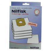 Nilfisk Power Ve Select Serisi Toz Torbası