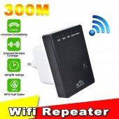 Wifi Genişletici 300 Mbps 2.4 Ghz Wıreless N Mını Router Repeater