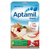 Aptamil Sütlü 7 Tahıllı Elmalı Kaşık Mama 250 Gr