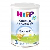 Hipp 3 Combiotic Organik Devam Sütü 350 Gr