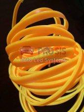 2metre Elwire İp Neon Led Fitili Sarı