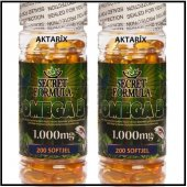 2 Kutu Secret Formula Omega 3 Balık Yağı 200 Softjel