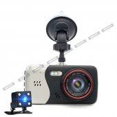 Angeleye 522 Full Hd 1080p Çift Kamera Araç İçi Güvenlik Kamerası