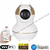 Ae 360 Full Hd Wifi Ip Bebek Güvenlik Kamerası 2 Anten