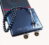 Pierre Cardin Cüzdan + Tuğralı Oltutesbih + Tuğra Kol Düğmesi Set