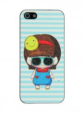 Gogo Funky Girl İphone 5 5s Se Sert Tasarım Kılıf Kapak