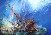 Castorland 2000 Parça Puzzle Sunk Galleon