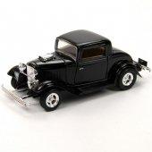 Motor Max 1 24 1932 Ford Coupe (Siyah)