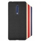 Nokia 5 Fileli Delikli Sert Silikon Kılıf