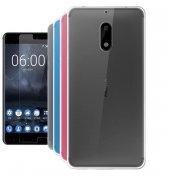 Nokia 6 Silikon Kılıf + Kırılmaz Cam
