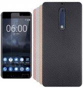 Nokia 5 Armor Silikon Kılıf + Nano Kırılmaz Cam