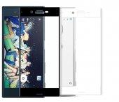 Sony Xperia X Compact Tam Ekran Koruma Kırılmaz Cam