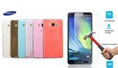 Samsung Galaxy A5 Ultra İnce 0.2 Mm Kılıf + Kırılmaz Cam