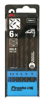 Black&decker X56010 6 Parça Hss R Metal Matkap Ucu Seti