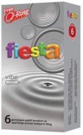 Fiesta Vibe Titreşimli Prezervatif 6 Adet