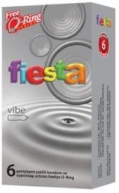 Fiesta Vibe Vibratör Etkili Titreşimli Prezervatif