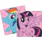My Little Pony,poni 20li Peçete 33x33cm Doğum Günü Parti Ucuz Kon