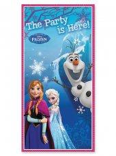 Elsa Frozen Parti Afişi Kapı 76x152 Doğum Günü Afişleri