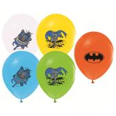 96 Adet Batman Baskılı Karışık Balon