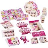 Barbie Parti Malzemeleri Seti Doğum Günü Süsleri 24 Kişilik